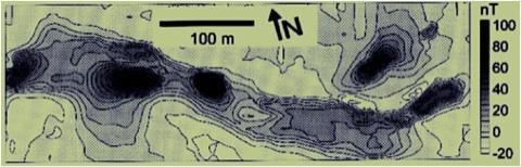 Trinkwassererschließung Karst Magnetfeldmessungen Tektonik Bruchzonen