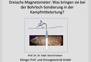 Vortrag Ernstson Tagung Kampfmittelräumung 2014