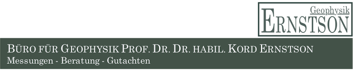 Büro für Geophysik Prof. Dr. Dr. habil. Kord Ernstson