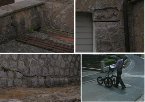 Bodenradar Georadar Hausschäden Bodenunterspülungen