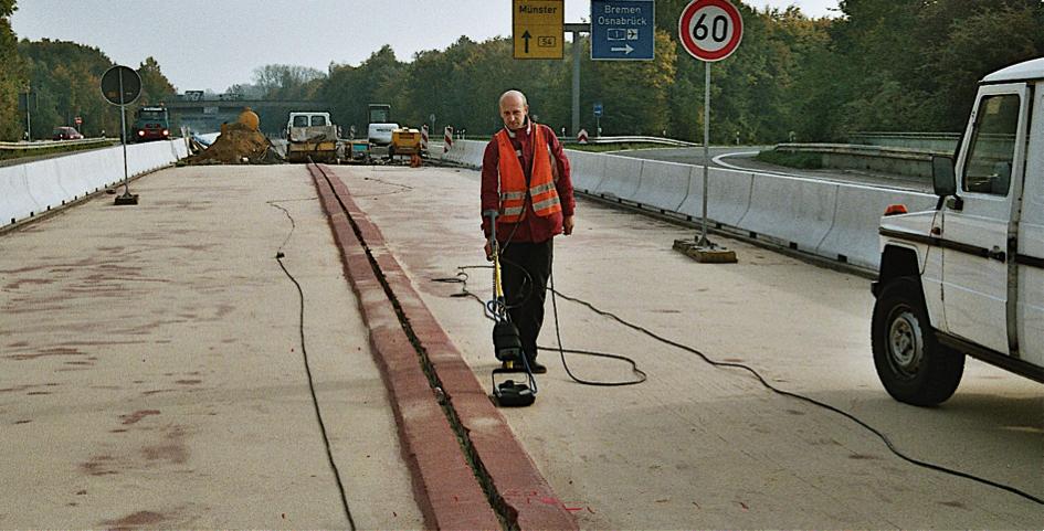 Georadar Bauwerksüberprüfung Konstruktionsüberprüfung Matrialüberprüfung